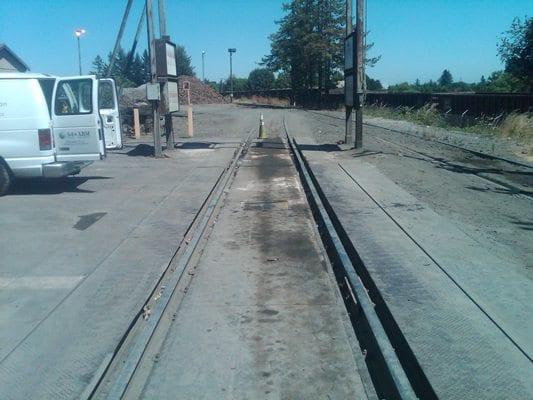 Industrial scale repair