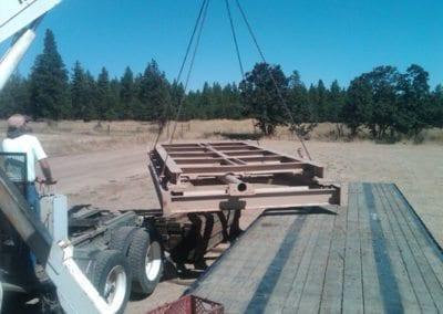 truck scale loading
