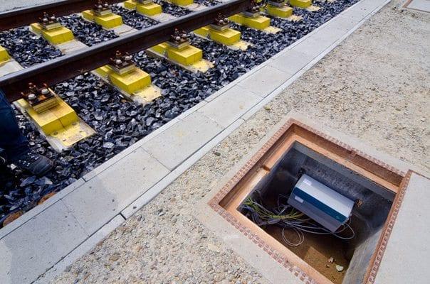 railway scale display
