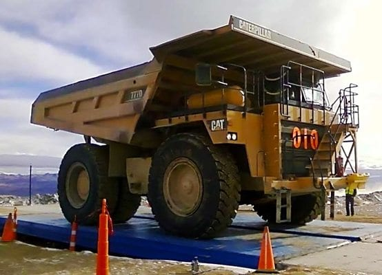 mining truck scale